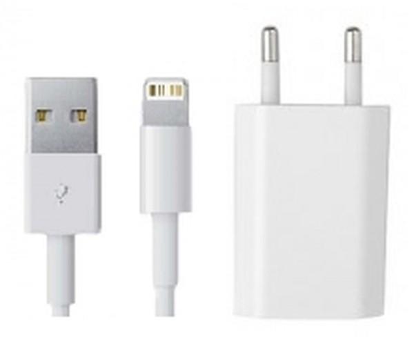 Ladegerät und Kabel ab iPhone 5