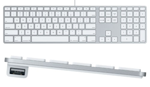 Apple Pro Keyboard, mit Zahlenblock