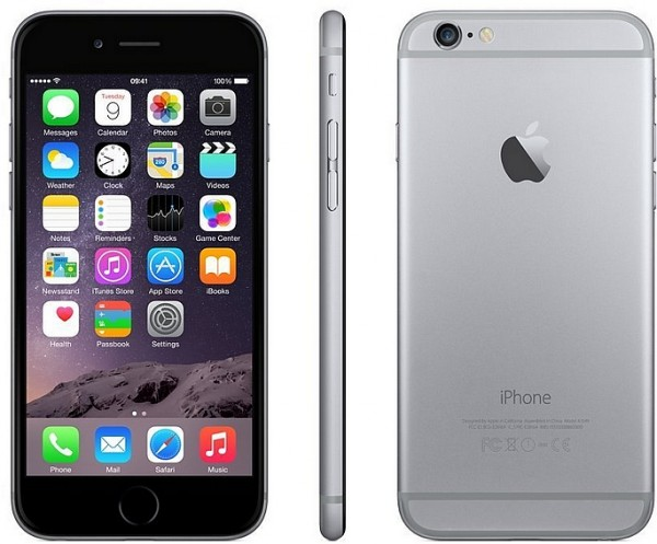 Apple iPhone 6, space-gray