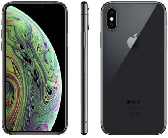 Apple iPhone XS, black, 64 GB