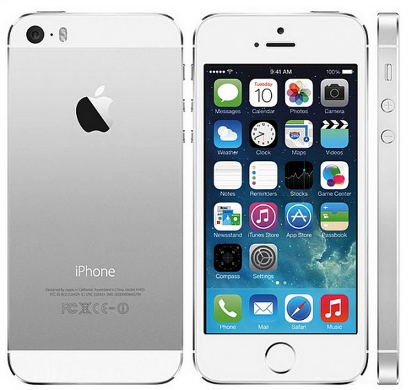 Apple iPhone 5s, white