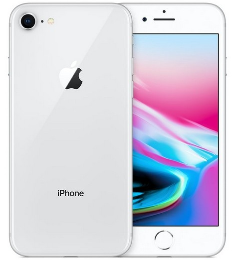 Apple iPhone 8, silver, 64 GB