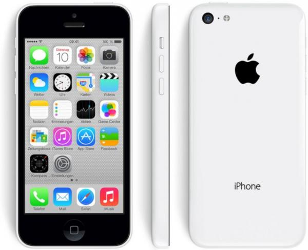 Apple iPhone 5c, white, 16 GB